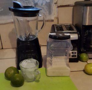 Ingredientes para hacer la limonada